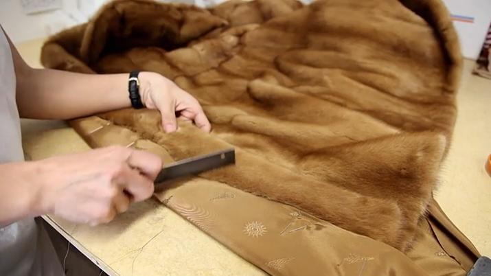 Покрасить шубу из нутрии в домашних условиях
